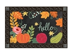 Boho Fall MatMates Decorative Doormat