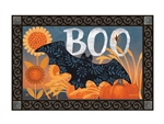 Boo Bat MatMates Decorative Doormat
