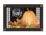 Season of Thanks MatMates Decorative Doormat