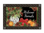 Spiced Oranges MatMates Decorative Doormat