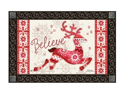 Nordic Deer MatMates Decorative Doormat