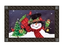 Frosty Friends MatMates Decorative Doormat