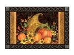 Autumn Bounty MatMates Decorative Doormat