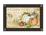 Pumpkin Seed Sack MatMates Decorative Doormat