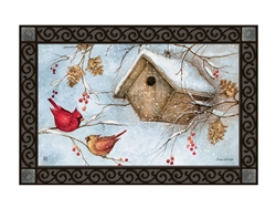 Winter Haven MatMates Decorative Doormat