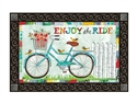 Enjoy the Ride MatMates Decorative Doormat