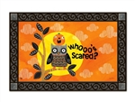 Who's Scared MatMates Decorative Doormat