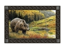 Grizzly Bear MatMates Decorative Doormat