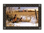 Pheasants MatMates Decorative Doormat