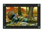 Turkeys MatMates Decorative Doormat