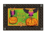 Trick or Treat Owls MatMates Doormats