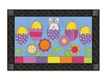 Easter Garden MatMates Decorative Doormat