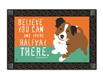 Magnet Works Halfway There MatMates Decorative Doormat