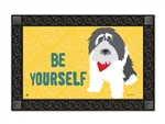 Magnet Works Be Yourself MatMates Pet Decorative Doormat