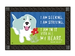 All My Heart MatMates Decorative Doormat