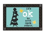 Need Each Other MatMates Decorative Doormat