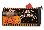 Owloween Fun Large MailWraps Mailbox Cover