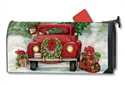 Bringing Home the Tree Large MailWraps Magnetic Mailbox Cover