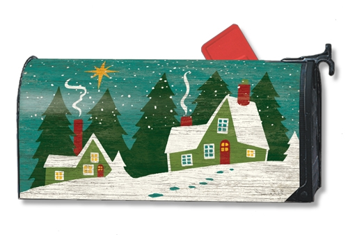 home for christmas large mailwraps magnetic mailbox cover