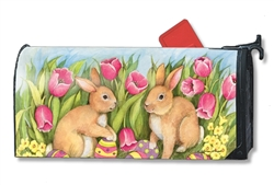 Hiding the Eggs Large MailWraps Magnetic Mailbox Cover