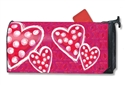 Valentine Wishes  Large MailWraps Magnetic Mailbox Cover