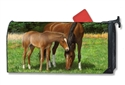Grazing Large MailWraps Magnetic Mailbox Cover