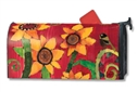 Peace Sunflower Large MailWraps Magnetic Mailbox Cover