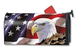 Spirit of Freedom Large MailWraps Mailbox Cover