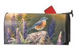 Flower Watching Large Mail Wraps Mailbox Cover