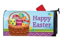Basket Full of Eggs Large MailWraps Magnetic Mailbox Cover