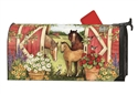 Springtime on the Farm Large MailWraps Magnetic Mailbox Cover