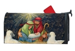 Behold the Child Large MailWraps Magnetic Mailbox Cover