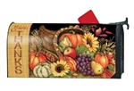Harvest Blessings Large MailWraps Magnetic Mailbox Cover
