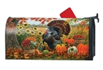 Turkey Pride Large MailWraps Magnetic Mailbox Cover