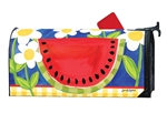 Summer Watermelon Large MailWraps Magnetic Mailbox Cover