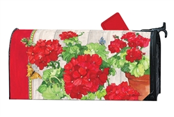 Ladies in Red Large MailWraps Magnetic Mailbox Cover