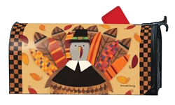 Pilgrim Turkey Large MailWraps Magnetic Mailbox Cover