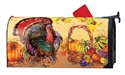 Wild Turkey Large MailWraps Magnetic Mailbox Cover