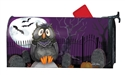 Moonlight Owl Large MailWraps Magnetic Mailbox Cover