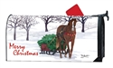 Horse Drawn Sled Large MailWraps Magnetic Mailbox Cover