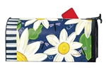Daisy Blues Large MailWraps Magnetic Mailbox Cover