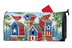 All American Birdhouses Large MailWraps Magnetic Mailbox Cover