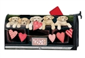 Puppy Love Large MailWraps Magnetic Mailbox Cover