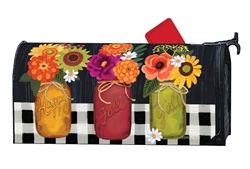 Autumn Blooms Large MailWraps Mailbox Cover