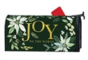 Poinsettia Joy Large MailWraps Mailbox Cover