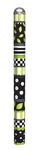 Green and Black 6-foot Round Art Pole