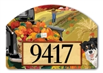 Pumpkin Truck Yard DeSigns Magnetic Art