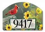 Cardinal View Yard DeSigns Magnetic Art