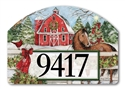 Christmas on the Farms Yard DeSigns Magnetic Art