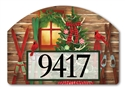Christmas at the Cabin Yard DeSigns Magnetic Art